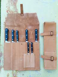 case kitchen knives knives knives case leather vd brown storage