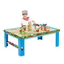 thomas train set wooden table 55 wood train table set train track wooden activity table plum play