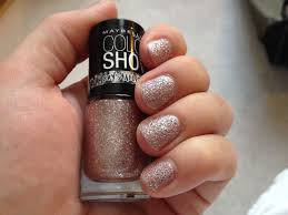 my beautopia maybelline color show crystallize nail polish rose chic