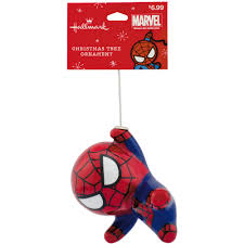 hallmark marvel spider decoupage ornament walmart