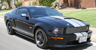 Blacked Out Mustang For Sale 2007 Ford Mustang Shelby Gt Black Silver For Sale American