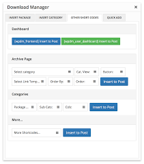 wordpress download manager directory add on