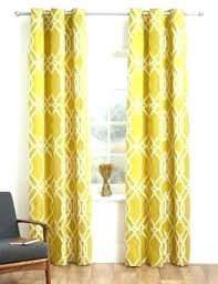 Navy Patterned Curtains Yellow Patterned Curtains Openpoll Me