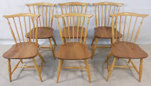 Ercol Dining Chair Set Of Six Ercol Light Elm Kitchen Dining Chairs Sold