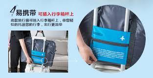 Tas Travel Lipat Gantungan Koper Waterproof 32l Tas Travel Lipat Gantungan Koper Waterproof 32l Blue