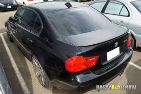 06 11 bmw e90 painted m3 type trunk spoiler m tech m sport lci fit