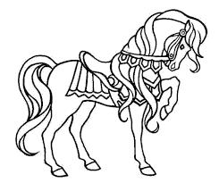 print u0026 download printable coloring pages horses
