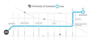 denver light rail expansion map getting to the center colorado convention center denver