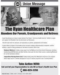 massive cuts to medicare u0026 medicaid ryan health care bill puts