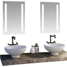 modern lighted bathroom mirrors allmodern