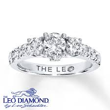 leo engagement rings jared leo ring 1 3 8 ct tw cut 14k white gold