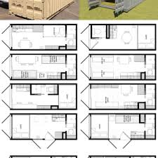 Shipping Container Home Floor Plan 20 Foot Shipping Container Floor Plan Brainstorm Tiny House Living