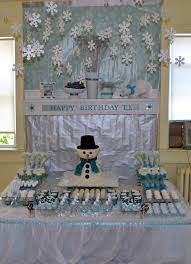 interior design creative winter themed baby shower decorations