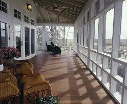 screen porch flooring porch farmhouse with ceiling fan deck