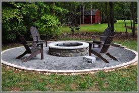 How To Build A Backyard Firepit Backyard Pit Ideas The Gravel Around Pit Duckness Best