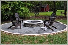 Backyard Fireplace Ideas Backyard Pit Ideas The Gravel Around Pit Duckness Best
