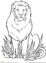 25 lion coloring pages ideas mandala lion
