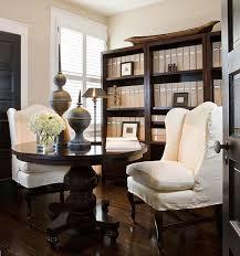 beige walls traditional den library office benjamin moore