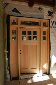 Modern Door Trim Doors At Last U2026 Modern Craftsman Style Home