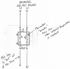 line voltage thermostat wiring diagram u0026 l4064b wiring for line