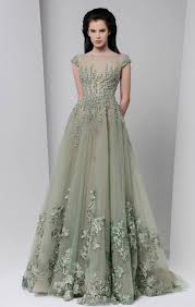 green wedding dress glamorous wedding dresses with couture details modwedding