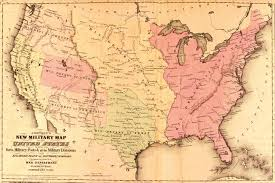 Map Of United States During Civil War by Desert Warriors The Civil War In The Southwest Borderlands