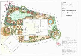 garden design layouts awesome residential landscape design thumb