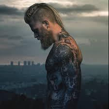 viking hairstyles for men modern day viking man pinteres
