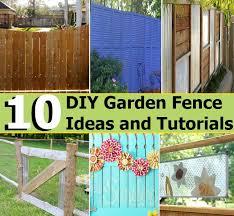 Diy Garden Fence Ideas 10 Diy Garden Fence Ideas And Tutorials Diycozyworld Home