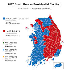 Projected 2016 Presidential Electoral College Map Autos Post by 2017 South Korean Presidential Election Results 879x939 Mapporn
