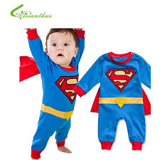 costumes for baby boy baby boy romper superman sleeve with smock