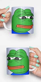 Gifts For Housewarming by Pepe Sad Frog Meme Funny Mug Gifts For Him Meme Mug