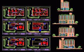 hotel floor plan dwg design dwg