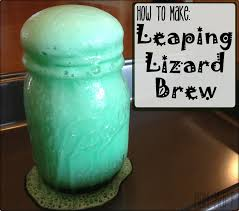 mom mart leaping lizard brew craftsforkids