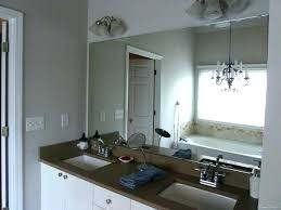 Framed Bathroom Mirror Ideas Framing A Bathroom Mirror Dynamicpeople Club