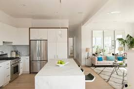 marble island kitchen modern kitchen with marble island and breakfast space aside the