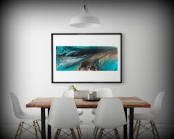 Coastal Home Decor Giclee Prints Art Abstract Painting Coastal Home Decor Modern