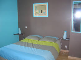 awesome chambre turquoise et chocolat contemporary design trends