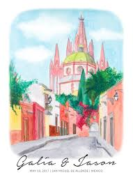 San Miguel De Allende Mexico Map by Accomodations U2014 Galia U0026 Jason
