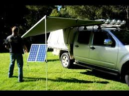 Tjm Awning Aussie Outdoor Set Up Of 2 5m Pull Out Awning Youtube
