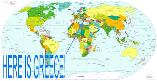 Greece Turkey Map by Syria Greece Map