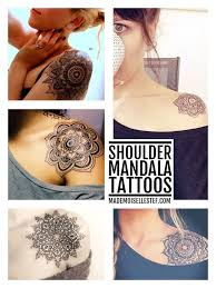 best 25 lotus shoulder ideas on mandala