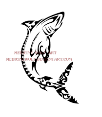 tribal tattoo designs tribal shark tattoos tribal shark and