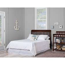 Ashton Bedroom Furniture by Dream On Me Ashton 5 In 1 Convertible Crib Black Walmart Com