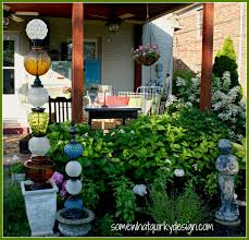 Glass Globes For Garden Somewhat Quirky Building Glass Towers