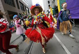 new orleans costumes last day of carnival mardi gras tuesday costumes in new