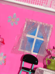 diy barbie house shelf glue gun
