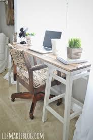 Stool For Desk Diy Barstool Desk