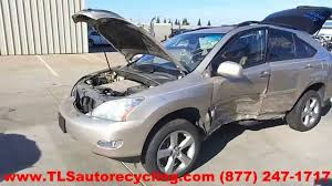 parting out 2007 lexus rx 350 stock 5007rd tls auto recycling