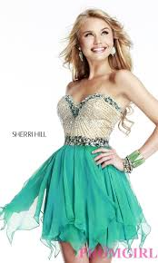 green short prom dresses dress fa